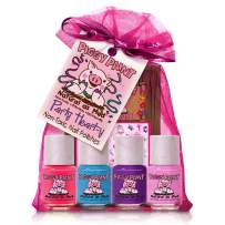 Piggy Paint Party Heart-Y [5 Pack] Gift Set Including Nail Art Stickers