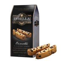 Dibella Biscotti Cookies – Authentic Italian Biscotti, Blueberry Lemon, 6-Count – Gourmet Cantuccini Biscotti – Rich Flavor – Crunchy Outside with Silky Middle – Classic Italian Biscotti