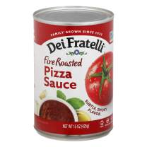 Dei Fratelli Fire Roasted Pizza Sauce - All Natural - No Water Added - 5th Generation Recipe (15 oz. cans; 12 pack)