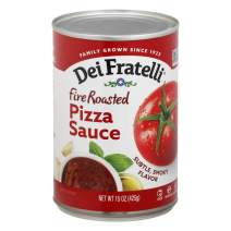 Dei Fratelli Fire Roasted Pizza Sauce - All Natural - No Water Added - 5th Generation Recipe (15 oz. cans; 6 pack)