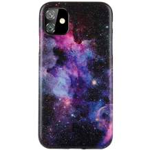"""Reejax iPhone 11 Case 6.1 inch Case with Glass Screen Protector, Starry Sky for Girls Women Best Protective Slim Fit Clear Bumper Glossy TPU Soft Silicon Cover Phone Case for iPhone 11 Case 6.1"""""""