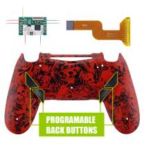 eXtremeRate Demons and Monsters Dawn Programable Remap Kit for PS4 Controller with Upgrade Board & Redesigned Back Shell & 4 Back Buttons - Compatible with JDM-040/050/055 - Controller NOT Included