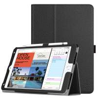 Fintie Case for iPad Mini 5 (2019) / iPad Mini 4 - [Corner Protection] PU Leather Folio Stand Cover with Pencil Holder, Auto Sleep/Wake for 7.9 Inch New iPad Mini 5th Generation/iPad Mini 4, Black