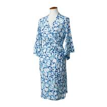 LÍLLÉbaby Cozy Robe for Maternity & Post-Partum Comfort, Shibori - L/XL