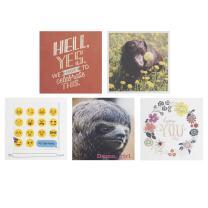 Hallmark Studio Ink Birthday Cards Assortment (5 Cards with Envelopes)