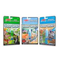 Melissa & Doug On The Go Water Wow! 3-Pack (Jungle, Under The Sea, Adventure)