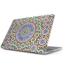 BURGA Hard Case Cover Compatible with MacBook Air 13 inch Case Release 2018-2019, Model: A1932 with Retina Display and Touch ID Moroccan Colorful Mosaic
