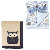 2-Pack Plush Blanket