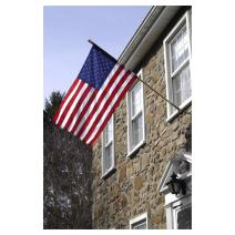 Valley Forge Flag DFS1USA-1 American Flag Kit, 2.5' x 4', Multi Color