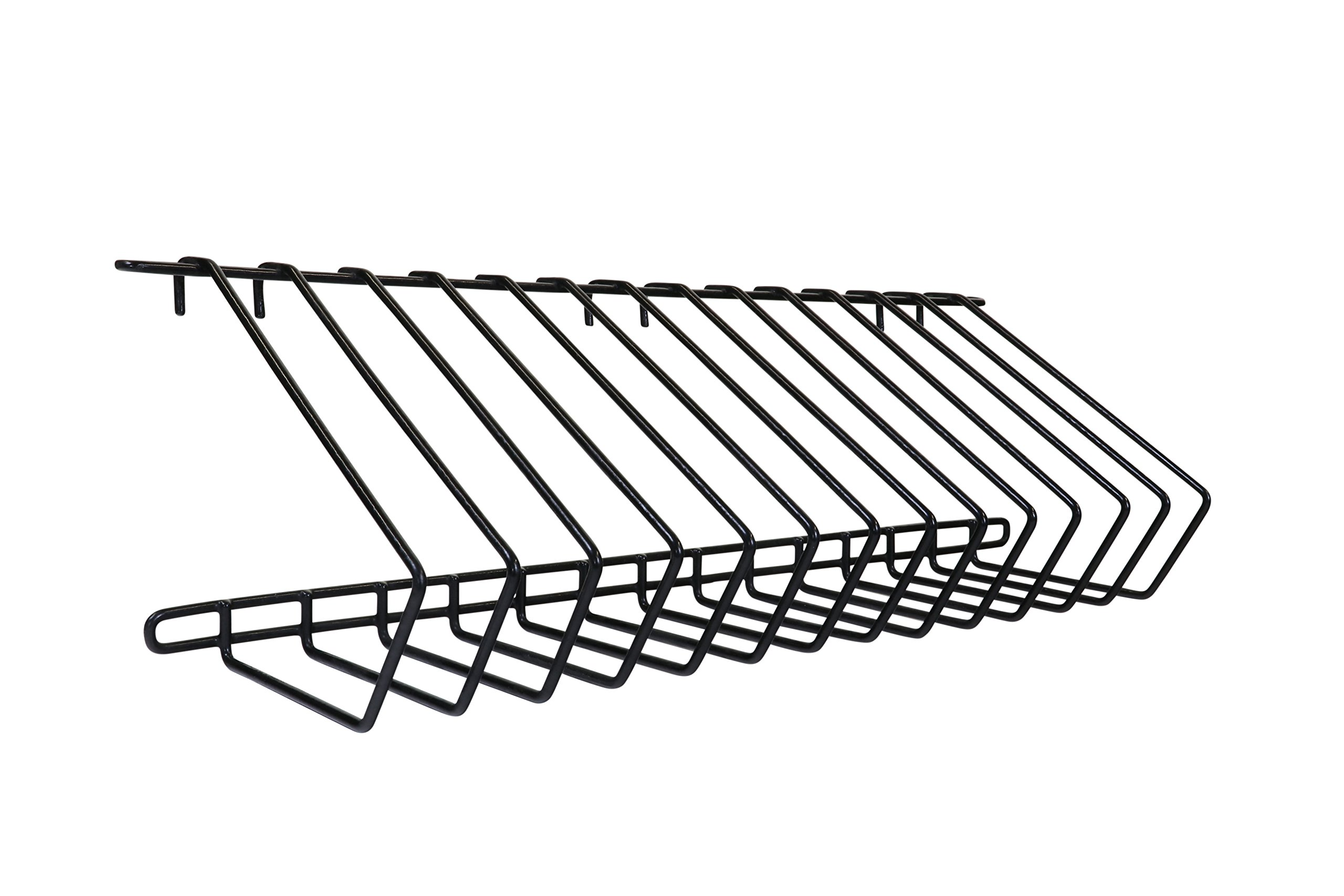 LocknCharge Carrier 30 Wire Rack Pair 13 Slot, Black (10107)