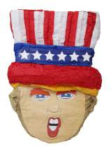 Uncle Trump Pinata - 4th of July Party Game, Photo Prop and Patriotic Decoration Centerpiece