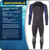 NeoSport Wetsuits Premium Neoprene Full Suit