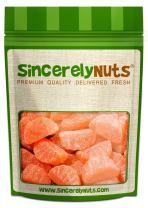 Sincerely Nuts - Gummi Orange Slices | 2Lb. Bag | Delicious Sugar-Coated Snack with Real Orange Citrus Flavor | Gluten Free Gourmet Chewy Candy for Kids & Adults | Premium Fresh Packaging