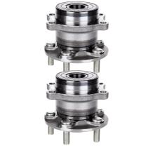 SCITOO Compatible with Wheel Bearing and Hub Assembly OE 512003 for 2008-2012 Subaru Forester Impreza Wheel Hub Bearing 5 Bolts W/ABS (2 Pads)