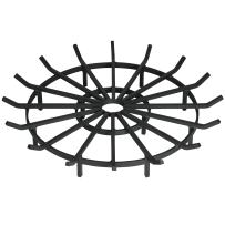 SteelFreak Heavy Duty Wagon Wheel Firewood Grate for Fire Pit - Made in The USA (40 Inch)