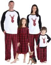 SleepytimePJs Matching Family Christmas Pajama Sets, Fleece PJ Sets