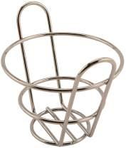 "G.E.T. Enterprises 4-22778 4.5"" Bucket Basket, 3"" Clipper Mill, Metal"