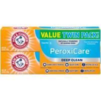Arm & Hammer PeroxiCare Tartar Control Fluoride Toothpaste with Baking Soda & Peroxide-6 oz, 2 pk