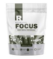 Title: FocusVitamin Packets by Live Relentless Nutrition - Brain Health Supplements for an Energy Boost with Lion's Mane and GABA Vitamins for Memory and Brain Focus* (30 Packets)