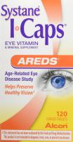 Systane ICaps Eye Vitamin & Mineral Supplement, AREDS Formula, 120 Coated Tablets