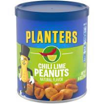 Planters Chili Lime Peanuts (6 oz Jars, Pack of 8)
