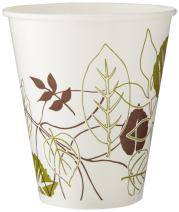 Dixie 12 oz. Polycoated Paper Cold Cup by GP PRO (Georgia-Pacific), Pathways, 12FPPATH, 2,400 Count (100 Cups Per Sleeve, 24 Sleeves Per Case)