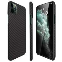 AIMOSIO Slim Case Compatible with iPhone 11 Pro MAX,2019 6.5'' 3D-Grip Aramid Fiber Minimalist Phone Case,[Real Body Armor Material] Non Slip Strongest Durable Snugly Fit Ultra-Thin Snap-on Case