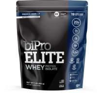 BiPro Elite Whey Isolate Protein Powder, Vanilla, 1 Pound