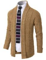 H2H Mens Casual Slim Fit Open Front Cardigan Lightweight Long Sleeve