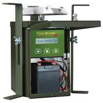 Texas Hunter Products 12-Volt Game Feeder Bundle - Model TH70 + Battery