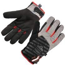 Ergodyne ProFlex 814CR6 Cut-Resistant Thermal Winter Work Gloves, Level A6 Cut Protection, Black, X-Large