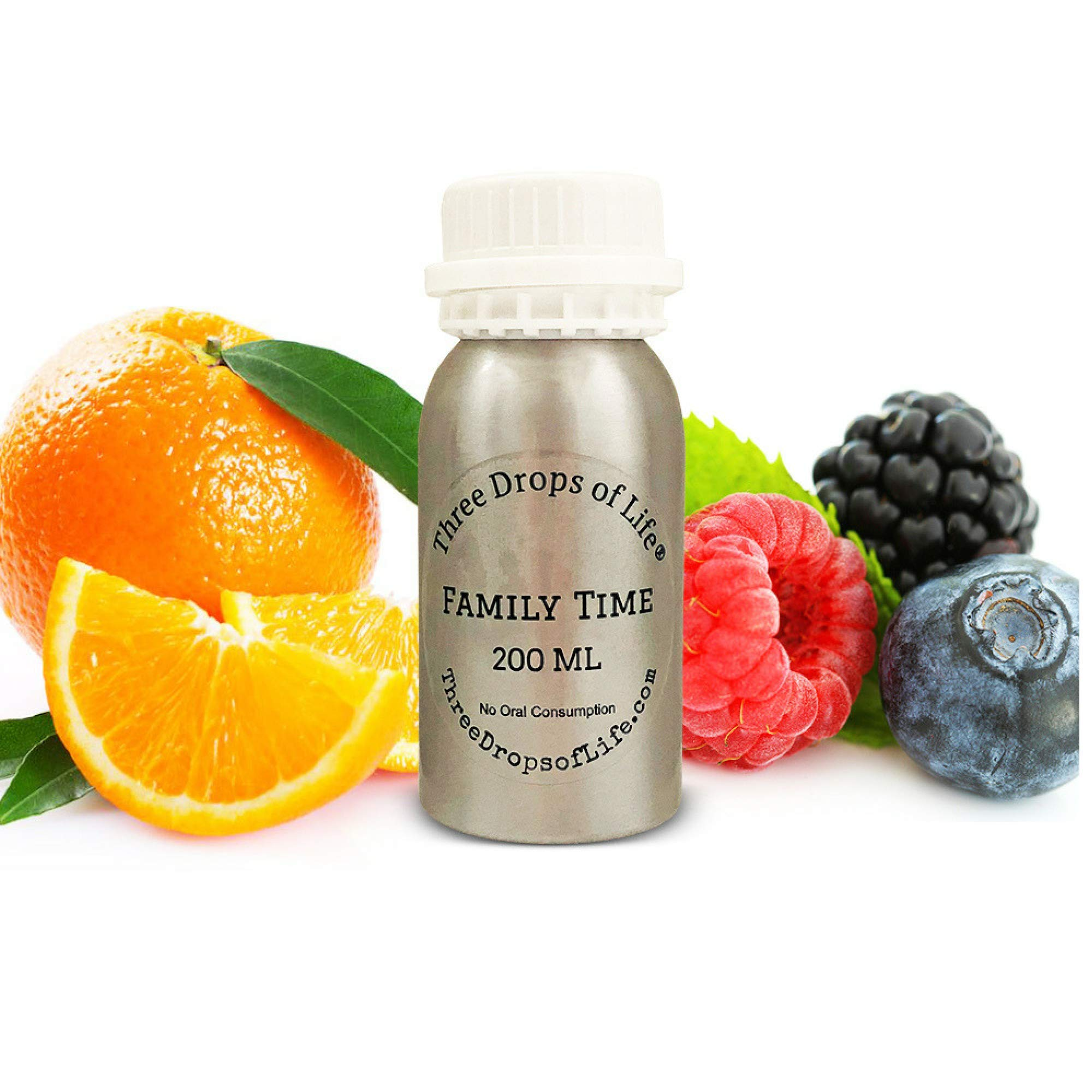 Aromatherapy Scent for Special No Water Diffusers, Luxury Blend of Fragrances for The Home, Office or Lobby (Family Time, 200ML)