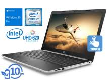 "HP 15 Laptop, 15.6"" HD Touch Display, Intel Core i7-8550U Upto 4.0GHz, 8GB RAM, 1TB NVMe SSD + 1TB HDD, DVDRW, HDMI, Card Reader, Wi-Fi, Bluetooth, Windows 10 Pro"