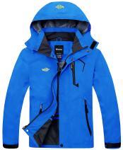 Wantdo Men's Breathable Hiking Jacket Mountain Rain Coat Windbreaker Sportswear