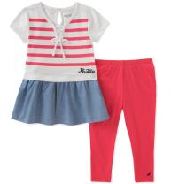 Nautica Baby Girls' Leggings Set