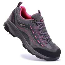 TFO Women's Hiking Shoes Anti-Slip Breathable Sneaker for Outdoor Walking Trekking.
