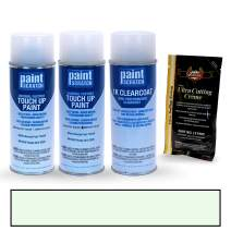 PAINTSCRATCH Touch Up Paint Tricoat Spray Can Car Scratch Repair Kit - Compatible with Honda Odyssey White Diamond Pearl Tricoat (Color Code: NH-603P)