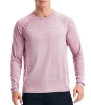 MensLongSleeveWorkout Shirts Dry Fit Running Shirt