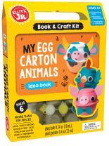 Klutz My Egg Carton Animals Jr. Craft Kit
