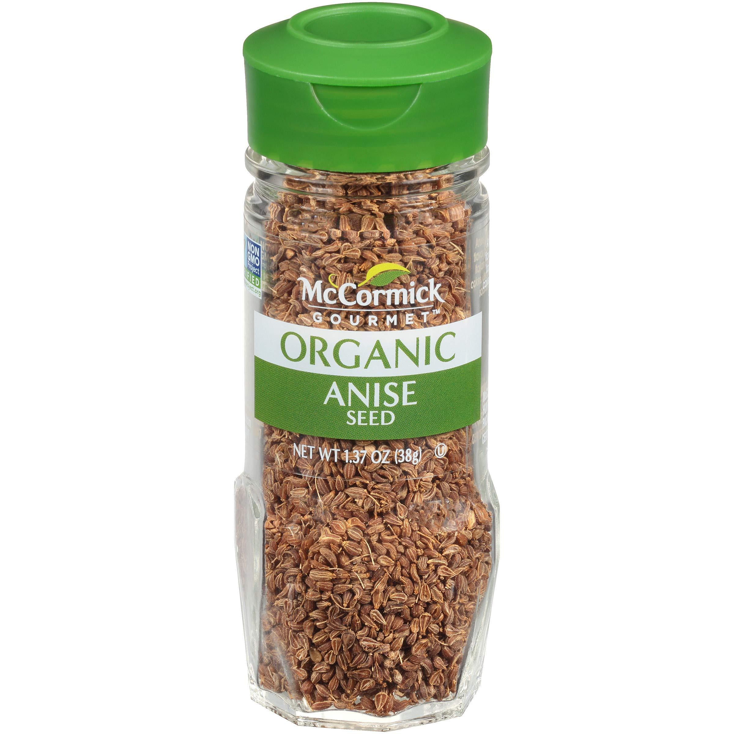 McCormick Gourmet Organic Anise Seed, 1.37 oz