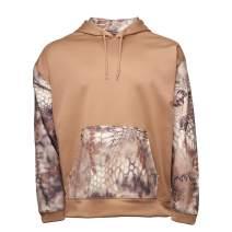 Kryptek Vulcan Camo Hoodie - Hunting & Casual wear, 3D Layered Camouflage