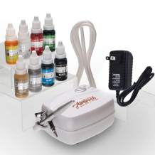 Airbrush Cake Decorating Kit Watson and Webb Airbrushing system for baking with 8 Colors