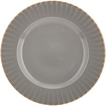 Marchesa Shades of Grey Accent Plate by Lenox