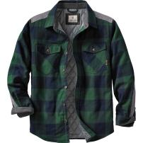 Legendary Whitetails Men's Woodsman Heavyweight Quilted Flannel Shirt Jacket
