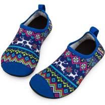 Crova Kids Water Shoes Quick Dry Aqua Socks Non-Slip Barefoot Sports Shoes for Boys Girls Toddler