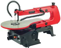 """General International 16"""" Scroll Saw - 1.2A Variable Speed Woodworking Saw with LED Light & Flexible Shaft - BT8007"""