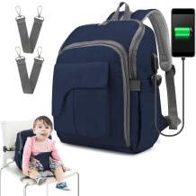 Diaper Bag Backpack, Ceekii Travel Back Pack Maternity Baby Changing Bags