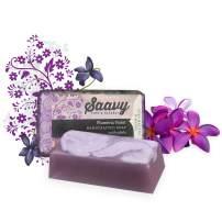 Plumeria Violet Soap Bar | All-Natural Handmade Body Wash Bar | 2 Pack 5oz