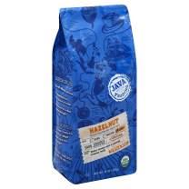 Java Trading Company Organic Ground Coffee, Hazelnut, 10 Oz
