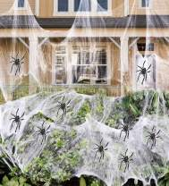Fake Spider Web Halloween Party Decorations Outdoor Supplies 1000 sqft